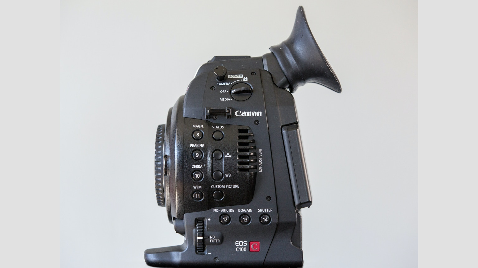 Le Meilleur C Cup Improving The Viewfinder Of The Canon C100 By Ce Mois Ci