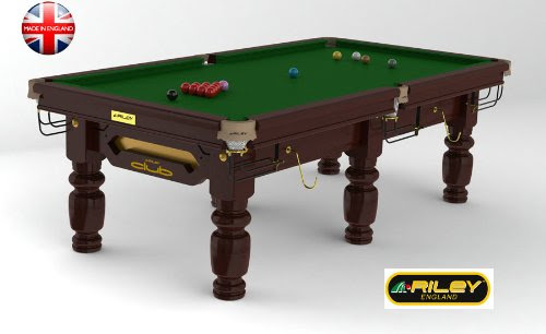 Le Meilleur Billard Tables Riley Snooker Riley Club 8 Ft Acajou Ce Mois Ci