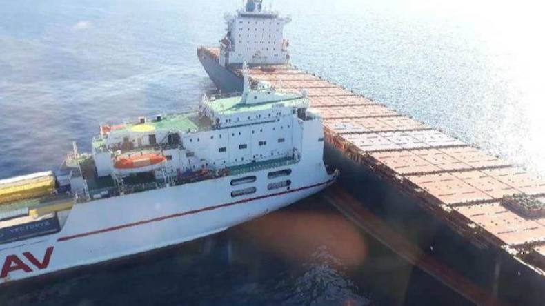 Le Meilleur Vessel Collision Leads To Fuel Spill In Mediterranean Ce Mois Ci