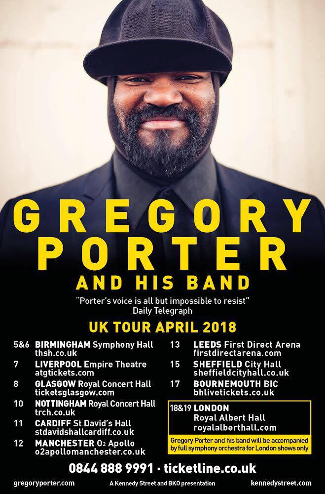 Le Meilleur Gregory Porter On Twitter General Tickets For My Uk Tour Ce Mois Ci