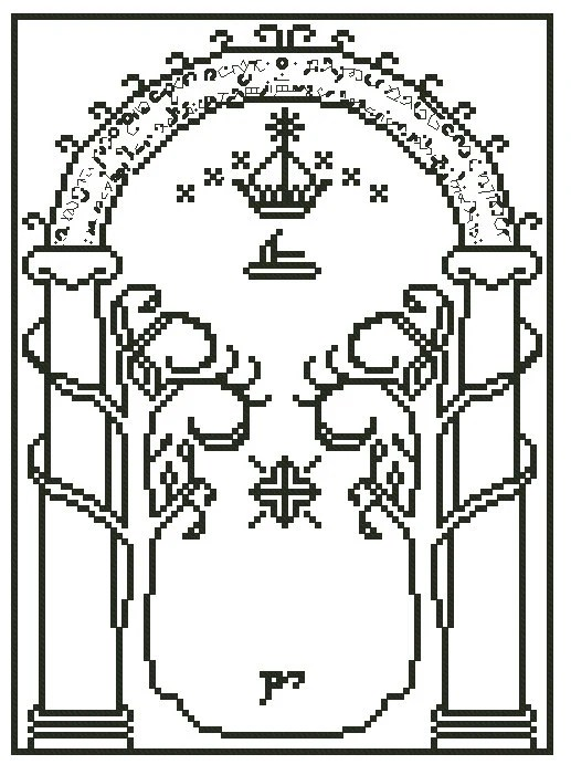 Le Meilleur Lord Of The Rings Gates Of Moria Cross Stitch Pattern Ce Mois Ci