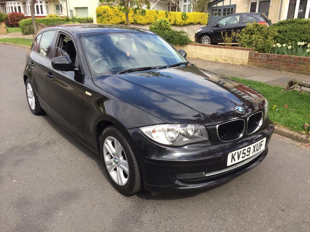 Le Meilleur 2009 59 Bmw 1 Series 116I Se Black 5 Door Hatch In Ce Mois Ci