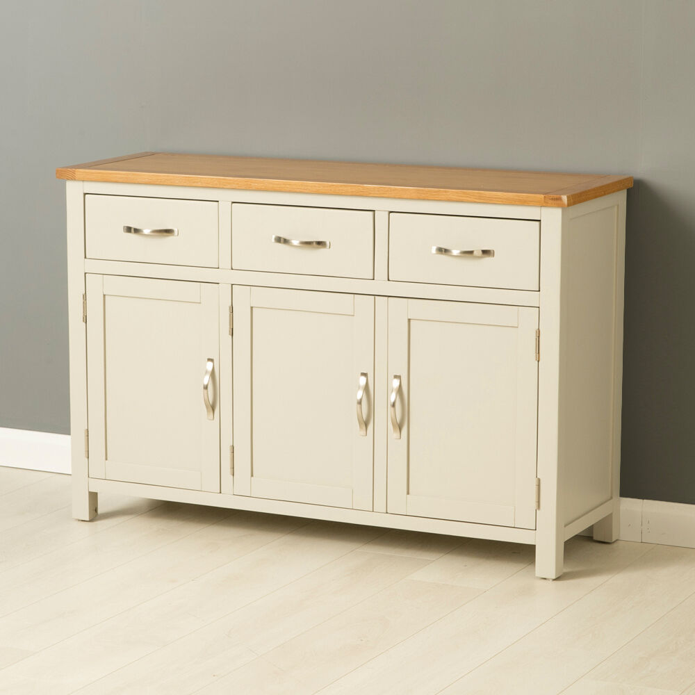 Le Meilleur Mullion Painted Large Sideboard Large 3 Door 3 Drawer Ce Mois Ci