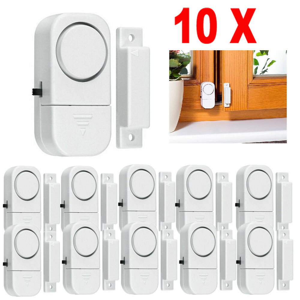 Le Meilleur 10X Wireless Home Window Door Burglar Security Alarm Ce Mois Ci
