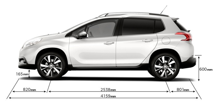 Le Meilleur Peugeot 2008 Crossover Technical Data And Specifications Ce Mois Ci