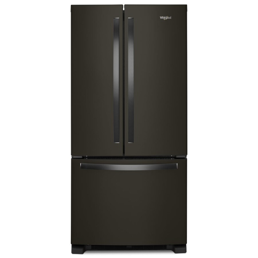 Le Meilleur Whirlpool 22 1 Cu Ft French Door Refrigerator With Ice Ce Mois Ci