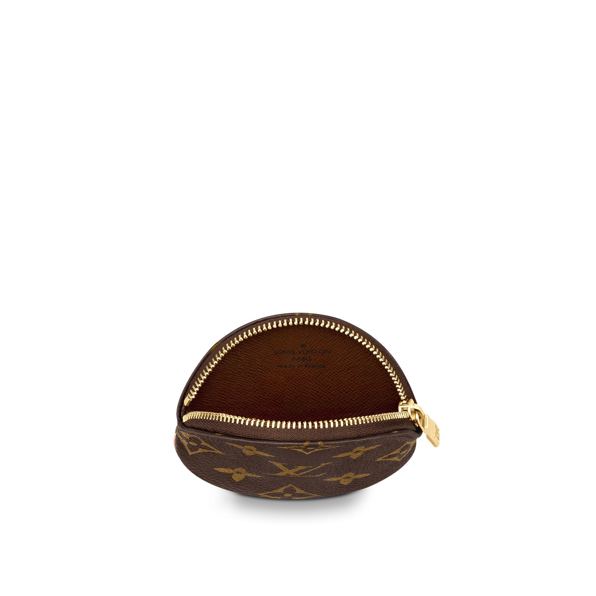 Le Meilleur Round Coin Purse Small Leather Goods Louis Vuitton Ce Mois Ci
