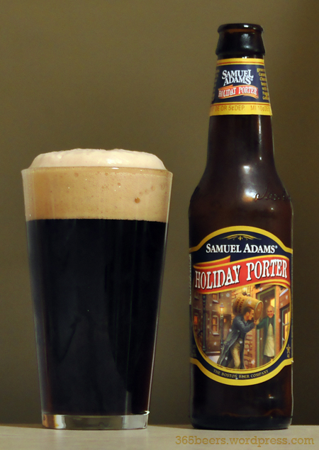 Le Meilleur Beer 260 365 – Sam Adam's Holiday Porter 365 Days 365 Ce Mois Ci