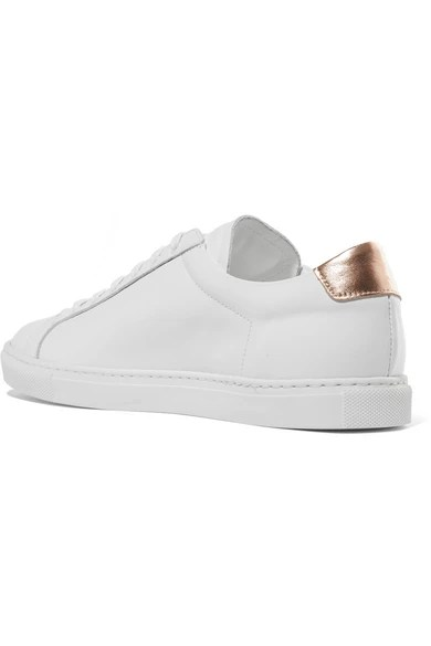 Le Meilleur Common Projects Retro Metallic Paneled Leather Sneakers Ce Mois Ci