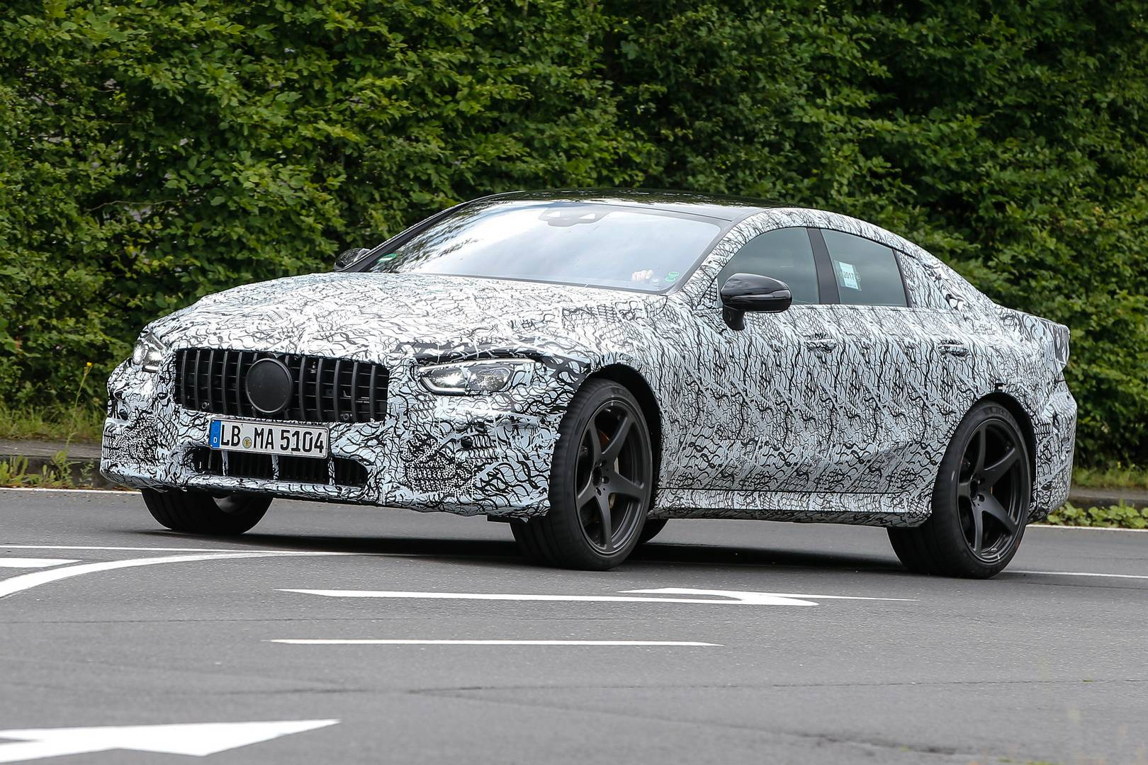 Le Meilleur Mercedes Amg Gt 4 Door Latest Spy Shots Gtspirit Ce Mois Ci