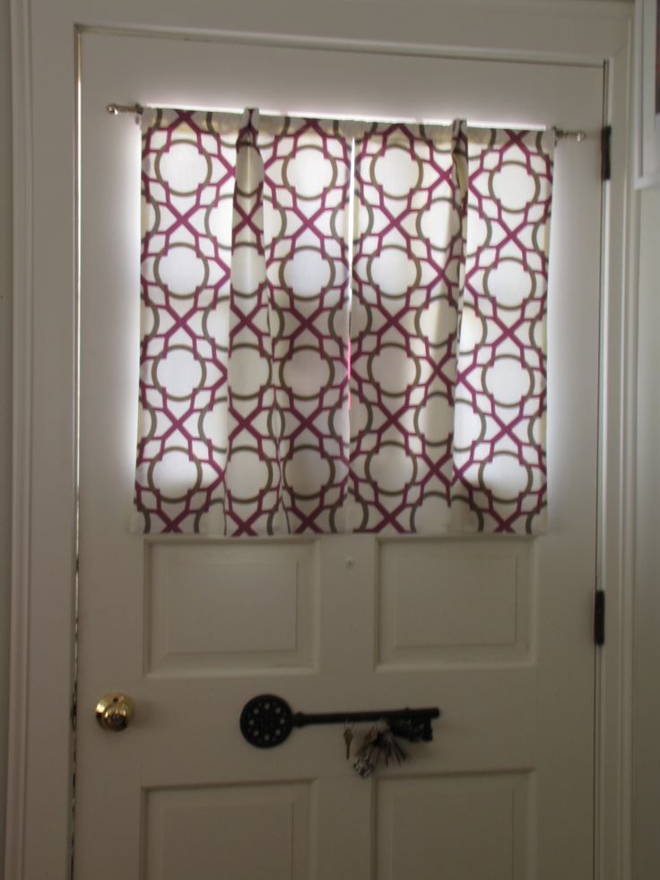 Le Meilleur Door Window Curtains I Made Sewing Pinterest Ce Mois Ci