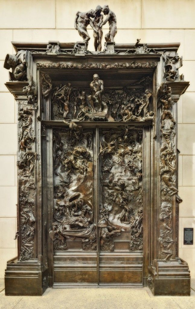 Le Meilleur The Gates Of H*Ll By Auguste Rodin A Commission To Ce Mois Ci