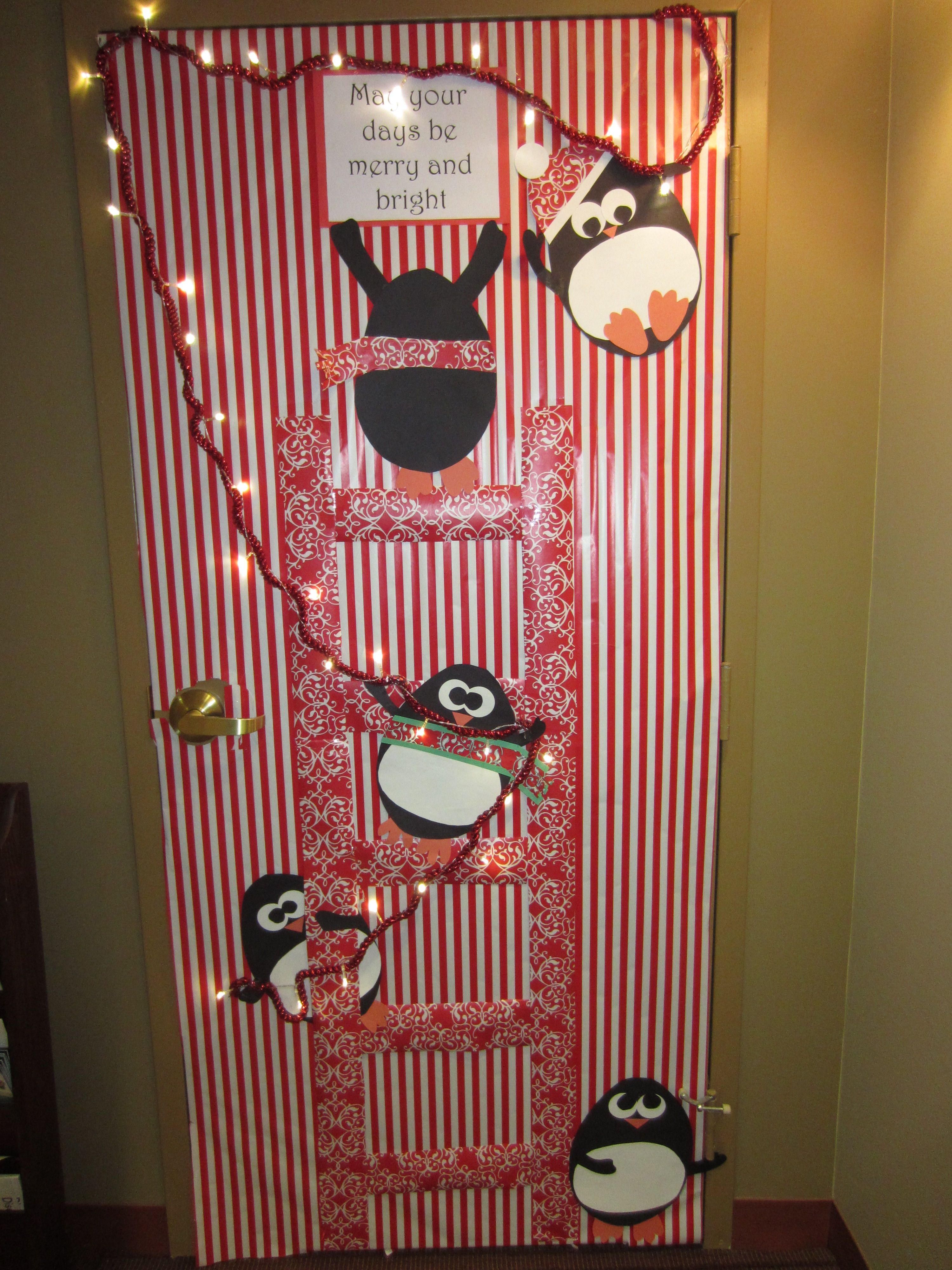 Le Meilleur Christmas Holiday Door Decoration May Your Days Be Ce Mois Ci