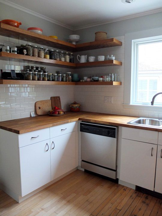 Le Meilleur Before After Mousy Kitchen Gets An Ikea Makeover Open Ce Mois Ci