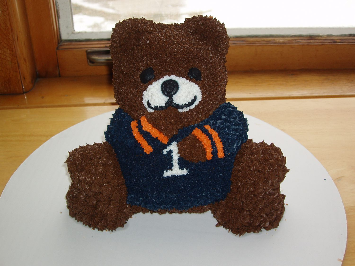 Le Meilleur 3D Chicago Bears Cake I Made This Cake For My Nephew S Ce Mois Ci