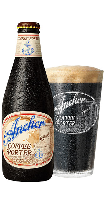 Le Meilleur Anchor Coffee Porter™ A Flash Chilled Coffee Infused Beer Ce Mois Ci