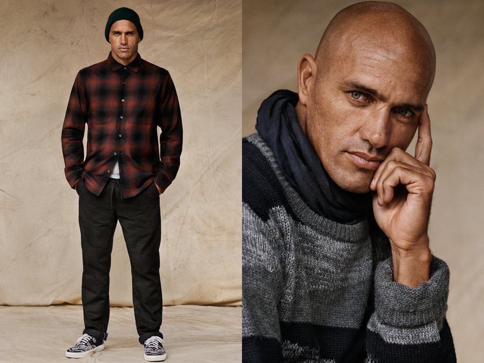 Le Meilleur Kelly Slater Models Outerknown For Mr Porter Shoot The Ce Mois Ci