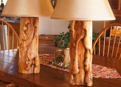 Gorgeous hand-crafted lamps!