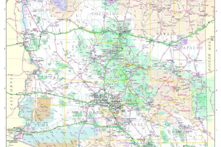 highway map of arizona » Full HD MAPS Locations - Another World ...