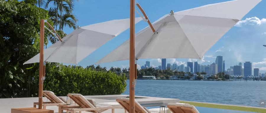 patio umbrellas by tucci treasure garden