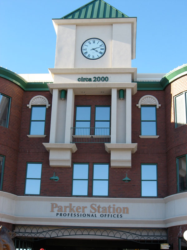 parker station commercial office and retail space downtown parker colorado.