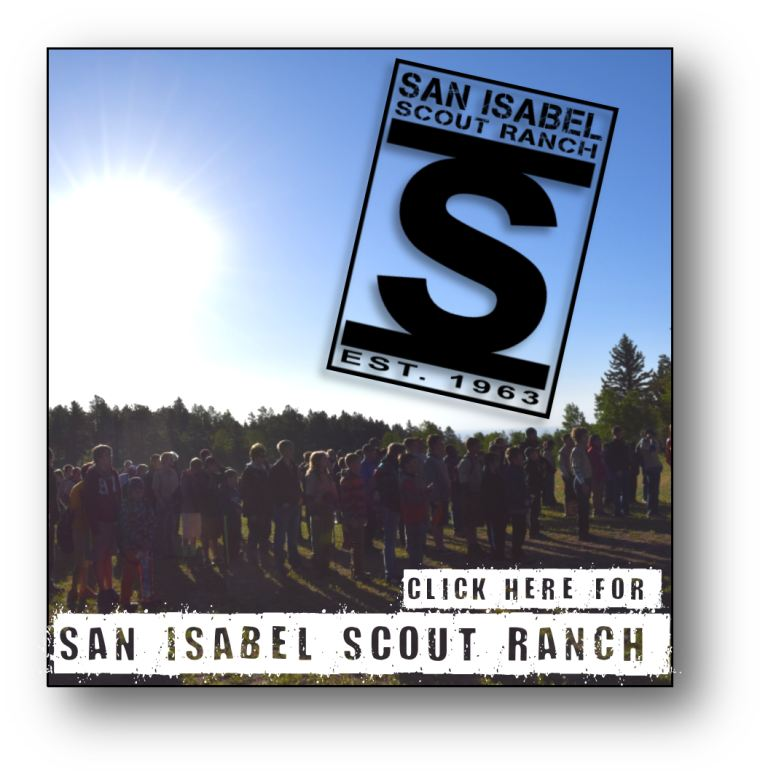 Click here to find out more about San Isabel Scout Ranch.