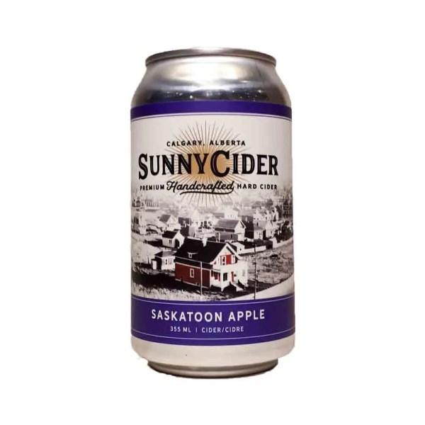 Sunny Cider Saskatoon Apple