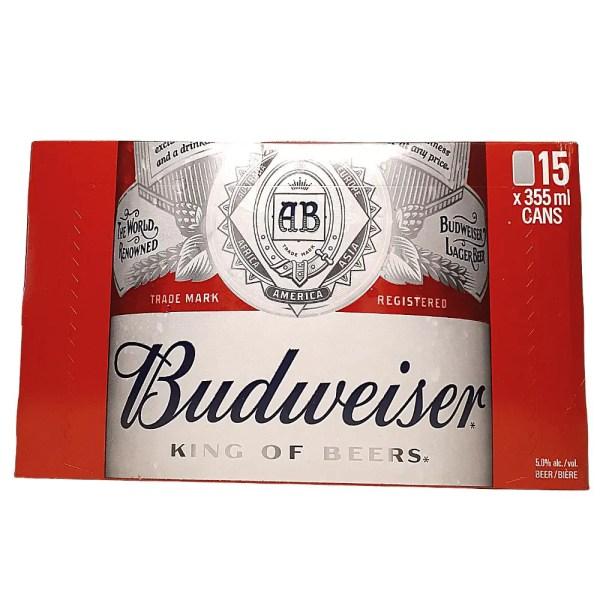 Budweiser 15 can