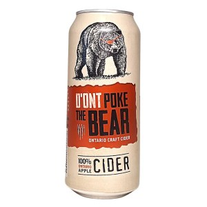 Don't Poke The Bear Cider