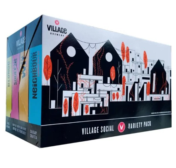 Village 8 Can Mix Pack