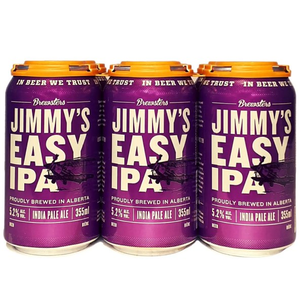 Brewsters Jimmy's Easy IPA