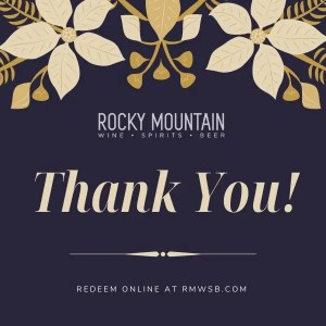 Thank you! Online Gift Card
