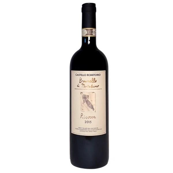 Castello Romitorio Brunello Di Montalcino Riserva 2015 Vintage Red Wine