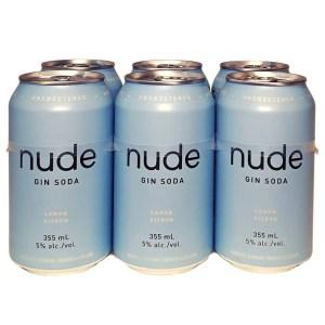 Nude Lemon Gin Soda