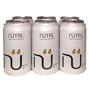 Nutrl Pineapple Vodka Soda
