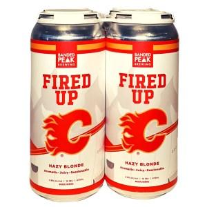 Banded Peak Fired Up Hazy Blonde Ale