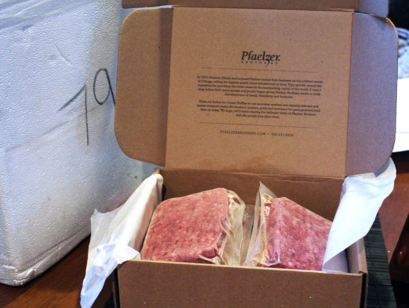 Pfaelzer Brothers Ultimate Burgers are individually wrapped and perfect for tailgating.
