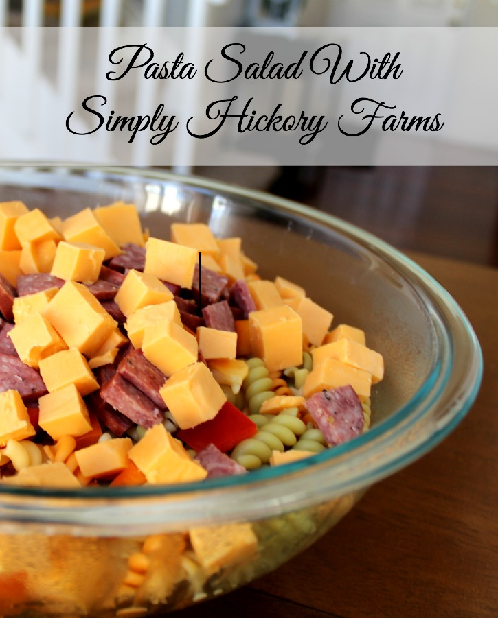This quick and easy pasta salad recipe is perfect for your next brunch or potluck.