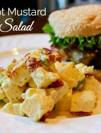 Sweet Hot Mustard Potato Salad Recipe