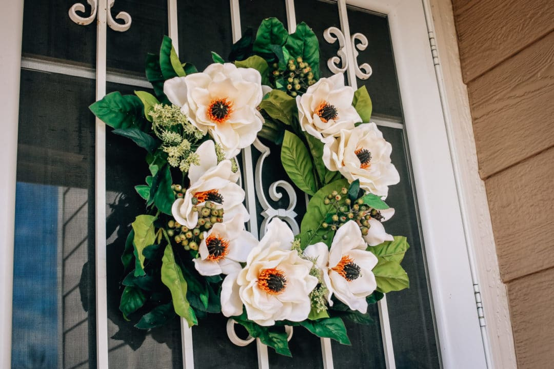 Spring Flower Door Wreath Decor Rocky Mountain Bliss