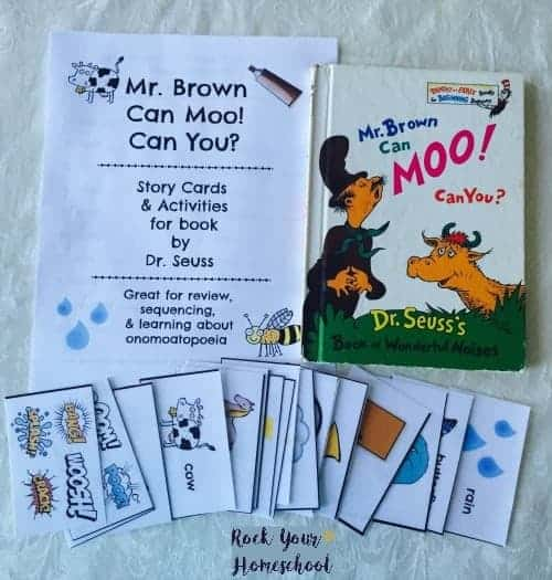Free Printable Pack For Mr. Brown Can Moo! Can You? - Rock Your ...