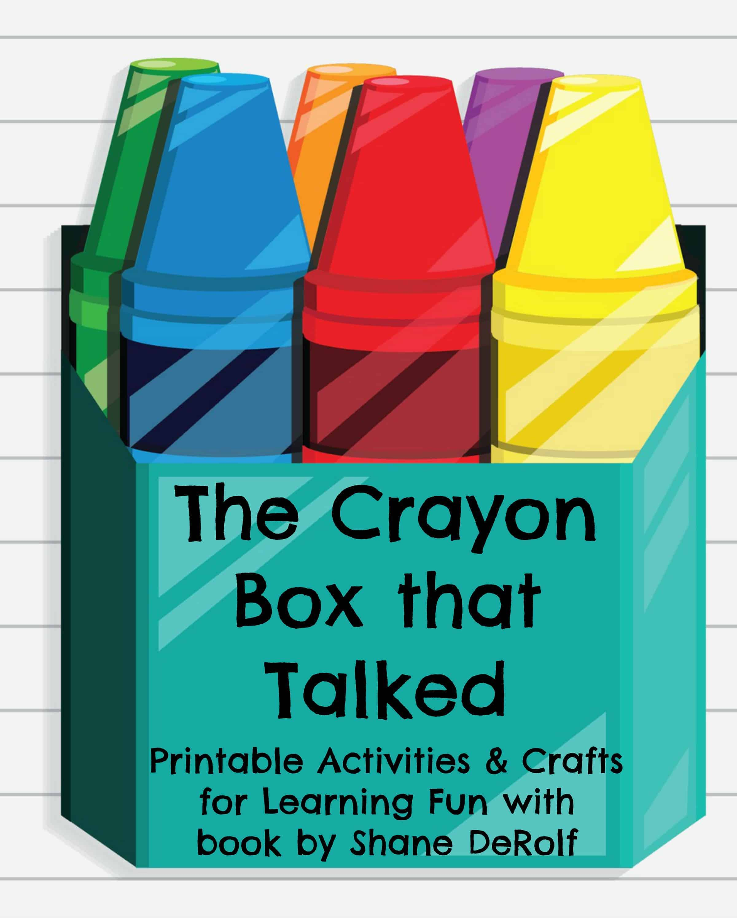 The Crayon Box That Talked Crafts Amp Activities