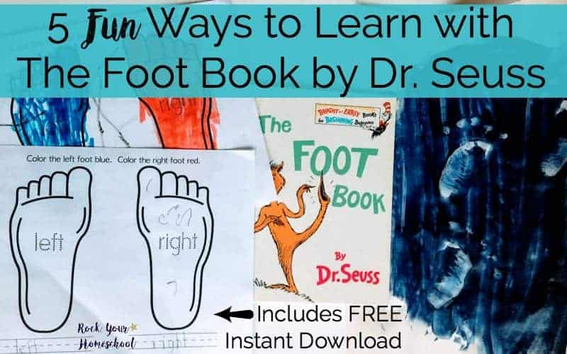 5 Fun Ways To Learn With The Foot Book By Dr Seuss