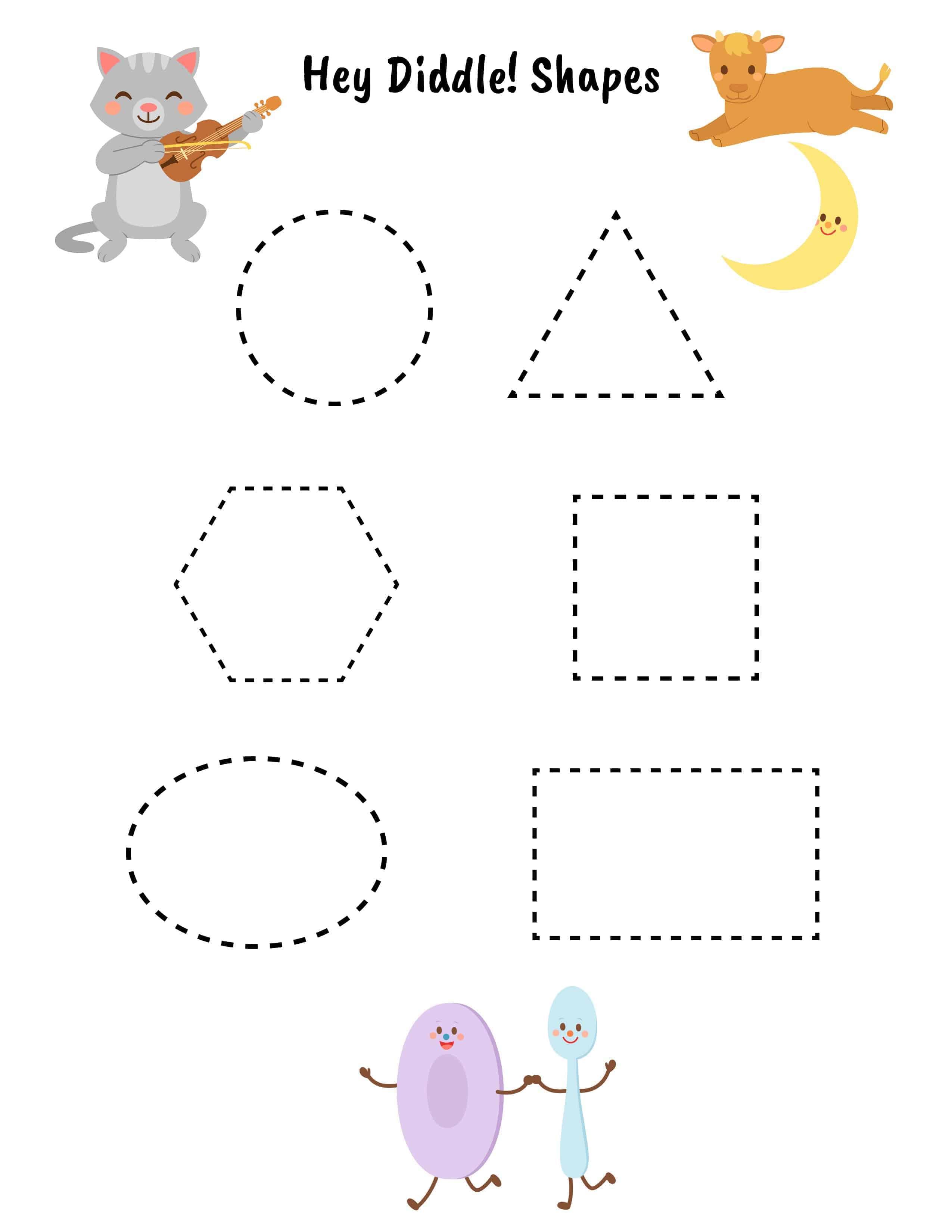 Preschool Enchantment Unit Study Week 4 Hey Diddle Diddle