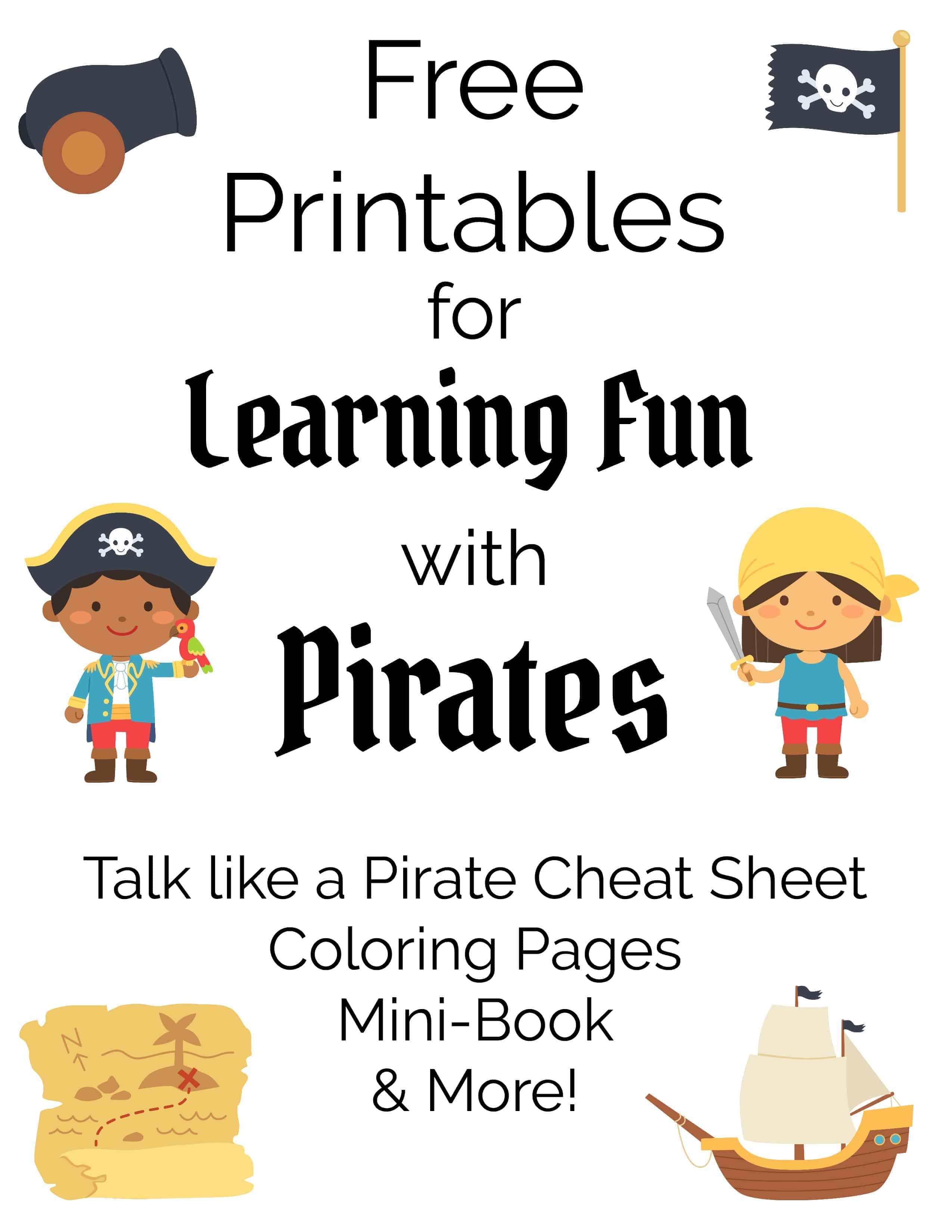 Learning Fun With Pirates