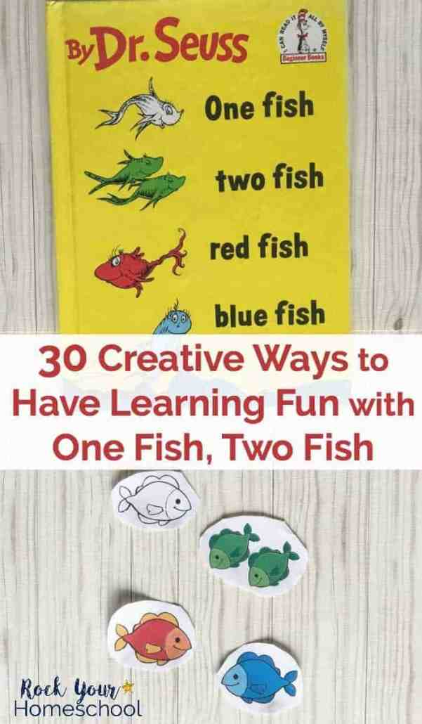 Extend The Learning Fun With One Fish Two By Dr Seuss Here