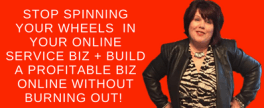Stop Spinning Your Wheels, I'll Show You How to Simplify, Organize + Profit in your biz