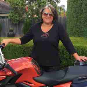 Leda Sant says learn to ride a motorcycle later in life
