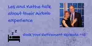 Les and Kathe on Airbnb as a hotel alternative