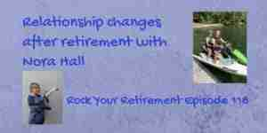 Nora Hall discusses a happy relationship in retirement
